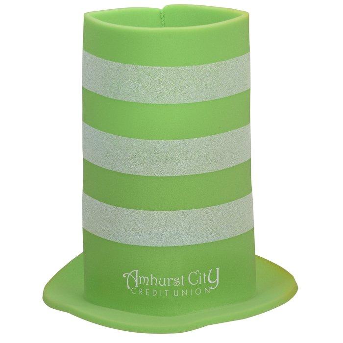 d3e8139bd1a 4imprint.ca  Foam Tall Striped Top Hat C136797