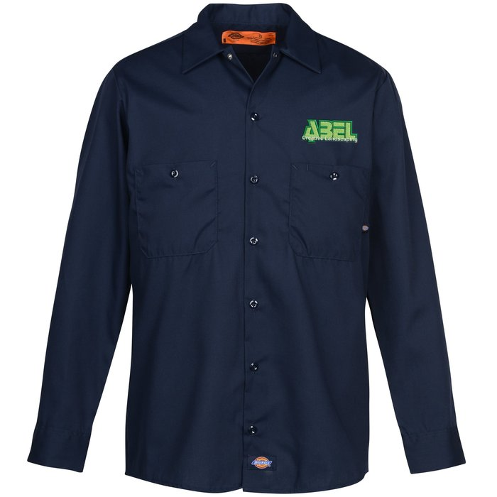 4imprint.ca  Dickies Industrial Long Sleeve Work Shirt C142156-LS 7c39b568d