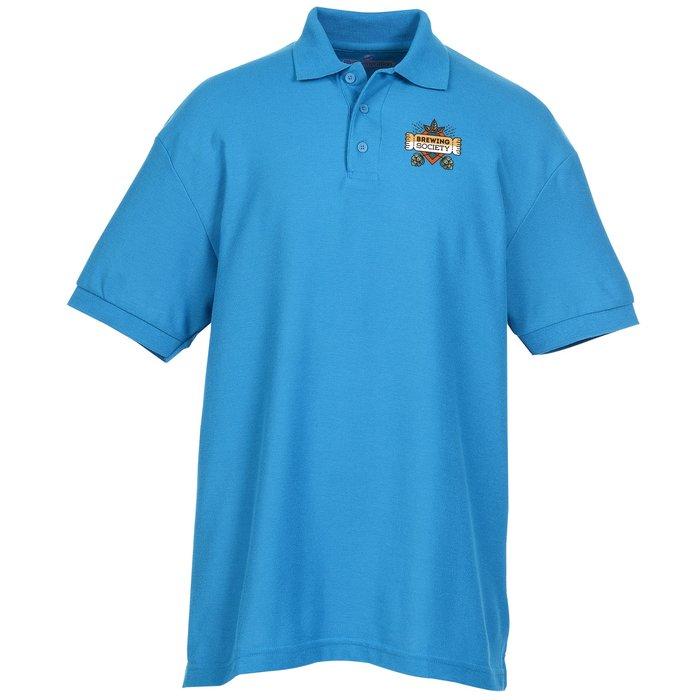 d32ebd28 4imprint.ca: Soft Touch Pique Sport Shirt - Men's - Full Colour C109305-M-FC