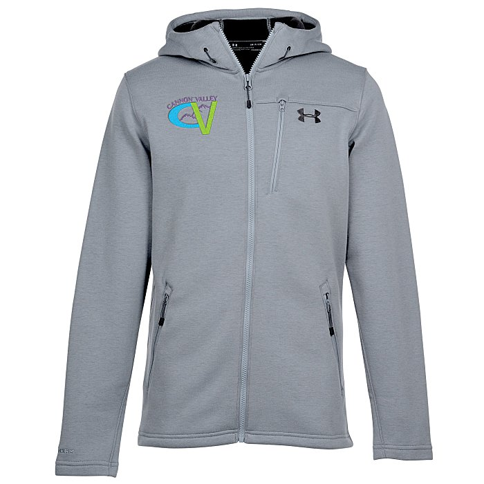 18cead2367 Under Armour Seeker Fleece Hooded Jacket - Men's - Embroidered