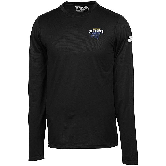 2b7326836 4imprint.ca: New Balance Athletic LS T-Shirt - Men's - Embroidered  C150330-M-LS-E
