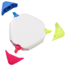 View Extra Image 1 of 1 of TriMark Highlighter - Opaque - White