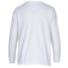View Extra Image 1 of 1 of Gildan Ultra Cotton LS T-Shirt- Youth- Embroidered- White