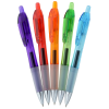 View Image 2 of 2 of Bic Intensity Clic Gel Rollerball Pen - Translucent