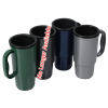 View Extra Image 1 of 2 of Insulated Auto Mug - 16 oz. - Black Interior