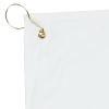 View Extra Image 1 of 1 of Deluxe Hemmed Golf Towel - White