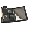 View Extra Image 1 of 2 of Pro-Tech Padfolio with Calculator and Notepad - Debossed