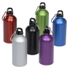 View Extra Image 2 of 2 of Carabiner Stainless Steel Water Bottle - 16 oz. - Matte
