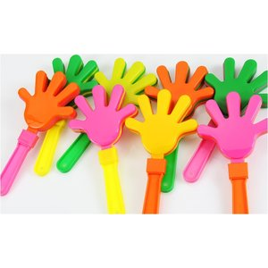 Hand Clapper - Assorted Neon Image 2 of 2