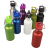 View Extra Image 2 of 2 of Wide Mouth Matte Stainless Sport Bottle