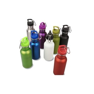 Wide Mouth Matte Stainless Sport Bottle - 24 hr Image 2 of 2