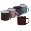 View Extra Image 2 of 2 of Campfire Ceramic Mug - Colours - 15 oz.