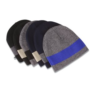 Fine Knit Single Stripe Beanie Image 1 of 1