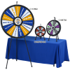 View Extra Image 1 of 2 of Micro Tabletop Prize Wheel - Blank