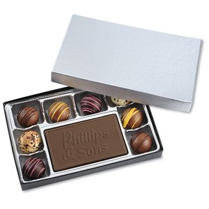 Disappearing Truffles & Chocolate Bar Box 6 oz. Image 1 of 1