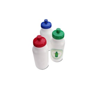 Sport Bottle with Push Pull Cap - 20 oz. - Just Say No Image 1 of 2