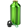 View Extra Image 1 of 2 of Aluminum Water Bottle with Carabiner - 16 oz. - 24 hr