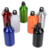 View Extra Image 2 of 2 of Aluminum Water Bottle with Carabiner - 16 oz. - 24 hr