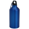 View Extra Image 1 of 2 of Aluminum Water Bottle with Carabiner - 16 oz. - Matte
