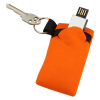 View Extra Image 3 of 3 of USB Pouch - Single with Key Ring