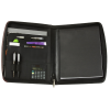 View Extra Image 1 of 3 of Metro Calculator Padfolio with Notepad - Debossed