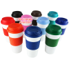 View Extra Image 1 of 2 of Colour-Banded Classic Coffee Cup - 16 oz.