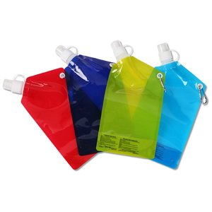 Folding Water Bottle - 20 oz. Image 4 of 4