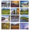 View Extra Image 1 of 1 of Canada Scenic Vistas Calendar