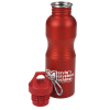 View Extra Image 1 of 1 of Clipper Wide Mouth Stainless Steel Water Bottle - 25 oz.