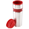 View Extra Image 1 of 2 of Steel Belted Travel Tumbler - 14 oz. - Closeout