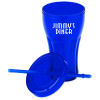 View Extra Image 1 of 1 of Fountain Soda Tumbler with Straw - 16 oz.