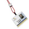 View Extra Image 1 of 1 of Nylon Power Cord Lanyard - Square - Multi