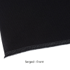 View Extra Image 3 of 4 of Serged Open-Back Polyester Table Throw - 6' - Full Colour