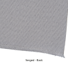 View Extra Image 4 of 4 of Serged Open-Back Polyester Table Throw - 8' - Full Colour