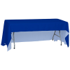 View Extra Image 1 of 5 of Serged Open-Back Polyester Table Throw - 6'
