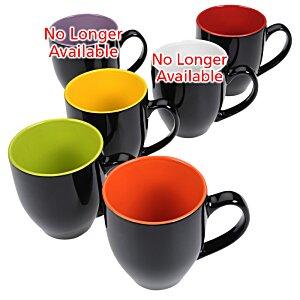 4imprint Ca Zapata Bistro Ceramic Mug 14 Oz Black
