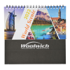 View Extra Image 1 of 4 of World Scenic Desk Calendar