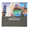 View Extra Image 1 of 4 of World Scenic Desk Calendar - French/English