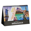 View Extra Image 2 of 4 of World Scenic Desk Calendar - French/English