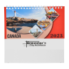 View Extra Image 1 of 4 of Scenic Canada Desk Calendar - French/English