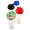 View Extra Image 1 of 4 of Shake & Drink Bottle - 20 oz.