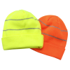 View Image 2 of 2 of Knit Beanie with Reflective Stripes