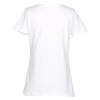 View Extra Image 1 of 1 of Fruit of the Loom HD T-Shirt - Ladies' - Screen - White