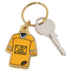 View Extra Image 1 of 2 of Sports Jersey Metal Keychain - Football