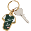 View Extra Image 1 of 2 of Sports Jersey Metal Keychain - Baseball
