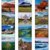 View Extra Image 1 of 1 of Glorious Getaways Calendar - Mini