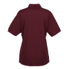 View Extra Image 1 of 1 of Blue Generation Snag Resistant Wicking Polo - Ladies'