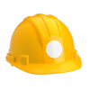 """View Image 2 of 2 of Hard Hat Stickers - Circle - 2"""" Dia"""
