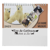 View Extra Image 1 of 4 of Wildlife Desk Calendar - French/English