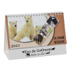 View Extra Image 2 of 4 of Wildlife Desk Calendar - French/English